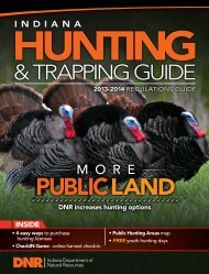 Indiana Hunting & Trapping Guide