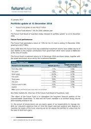 Portfo olio upd date at 3 31 Decem mber 20 16