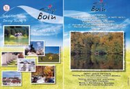 Bolu, the City Blessed with Natural Beauties