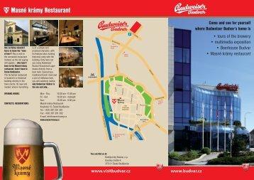 Budweiser Brewery Tours