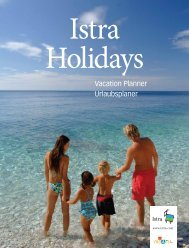 Istra Holidays Vacation Planner