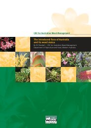 The introduced flora of Australia and its weed status - Weeds Australia