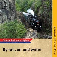 By rail, air and water