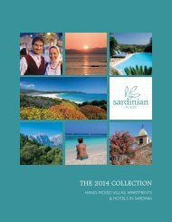 Hand-picked Villas, Apartments & Hotels in Sardinia
