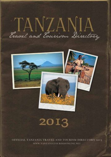 Tanzania Travel and Tourism Directory 2013