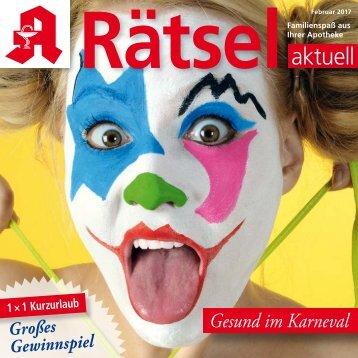 "Leseprobe ""Rätsel-aktuell"" Februar 2017"