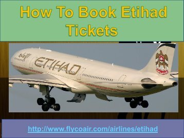 Etihad airline customer 1-877-287-2845 toll free number
