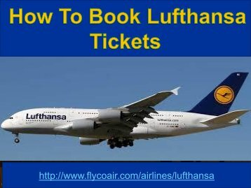 Lufthansa airline 1-877-287-2845 customer toll free number