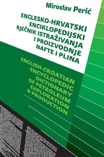Englesko hrvatski enciklopedijski rječnik istraživanja i ... - Ina