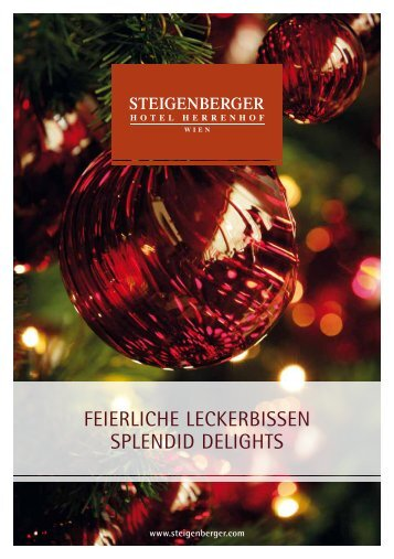 Weihnachtsbroschüre_Christmas brochure