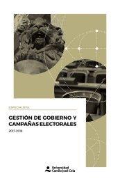 Especialista en Gestion de Gobierno y Campañas Electorales