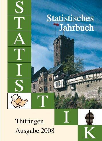Bestell Nr: 40101P 200800 - Thüringer Landesamt für Statistik