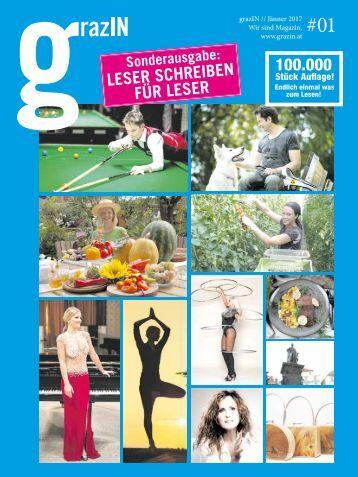 """grazIN 01/17 """"Leser für Leser"""""""