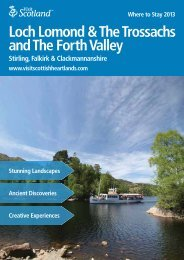 Loch Lomond & The Trossachs and The Forth Valley