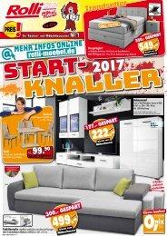 Rolli SB Küchen- und Möbeldiscounter: Start-Knaller 2017!