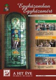 Egyházamban Egyházamért 2012