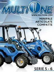 - SERIE 5 E 6 - MINI PALE ARTICOLATE COMPATTE
