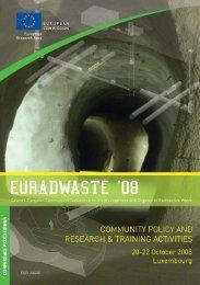 Euradwaste '08 - EU Bookshop - Europa
