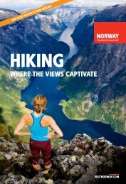 Hiking in Norway 2014