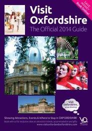 Visit Oxfordshire Visitor Guide