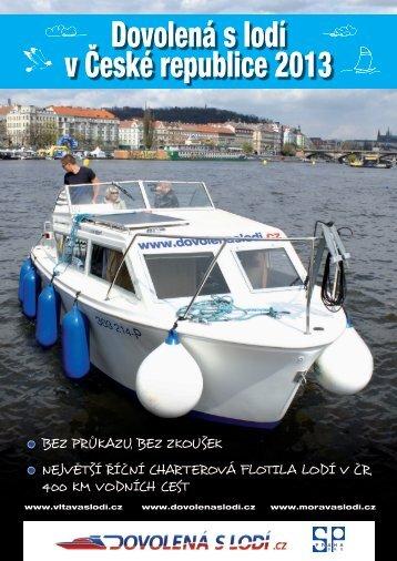 Dovolená s lodí v České republice
