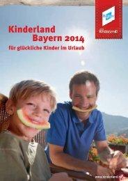 Kinderland Bayern 2014