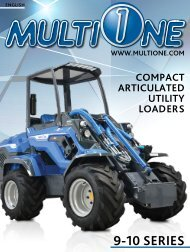 - 9 & 10 SERIES - COMPACT ARTICULATED UTILITY LOADERS