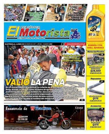 ELMOTORISTA Edicion 30 de Enero