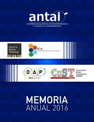 memoria anual 2016 Antai
