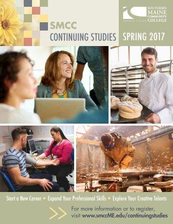 CONTINUING STUDIES SPRING 2017
