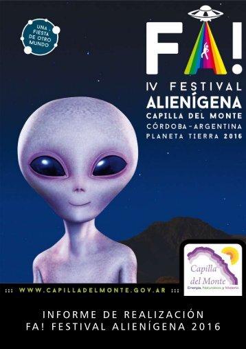 Revista FA programa Festejar - Cultura