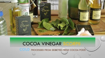 New Cocoa Vinegar Superfood