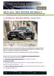 EXE3 MCE MB GLC MIT MUSKELN – BASIS TEST A-Fond