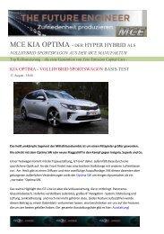 EXE3 KIA Optima – VOLLHYBRID Sportswagon +cupon Vertrieb