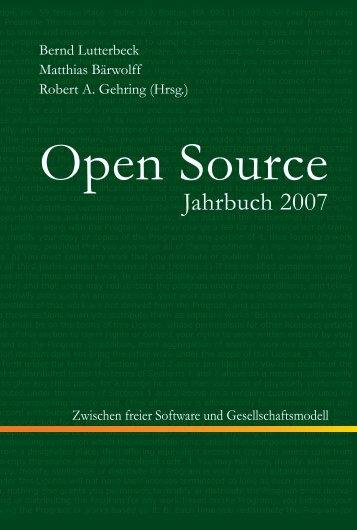 Open Source Jahrbuch 2007