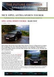 Exe3 MCE Opel Astra Sports Tourer Test