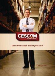 Catálogo Cescom 2017