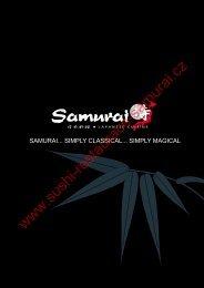 Menu Restaurant Samurai