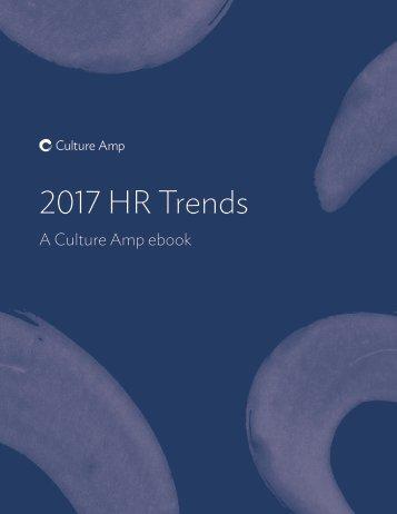 2017 HR Trends