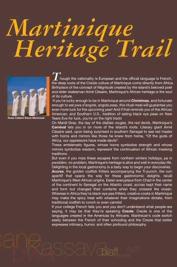 Martinique Heritage Trail