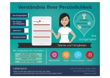 Persönlichkeitsanalyse für Sie!