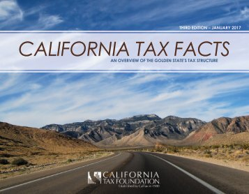 CALIFORNIA TAX FACTS