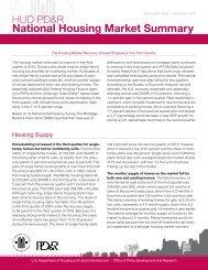 National Housing Market Summary
