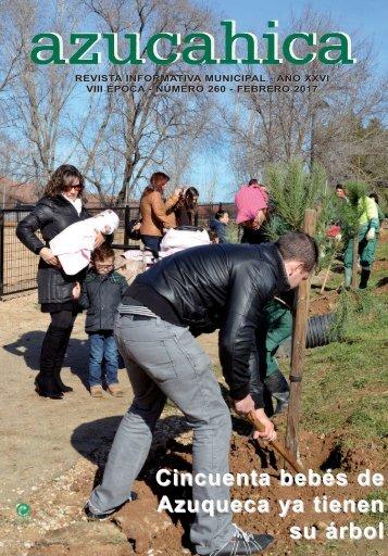 Cincuenta bebés de Azuqueca ya tienen su árbol
