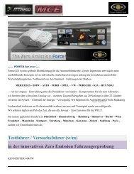 Hyper Hybrid Testfahrer ZECar für die Automobilindustri -2