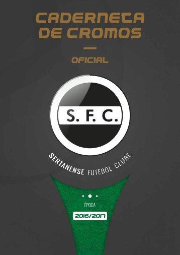 Caderneta de Cromos - Sertanense FC