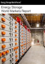 ENERGY STORAGE WORLD REPORT