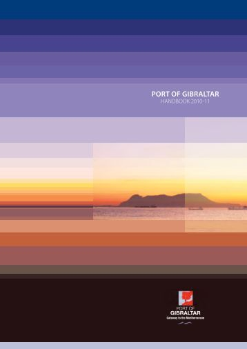 Port of Gibraltar Handbook