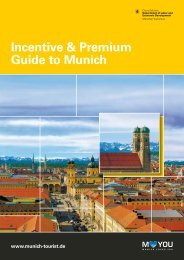 Incentive & Premium Guide to Munich