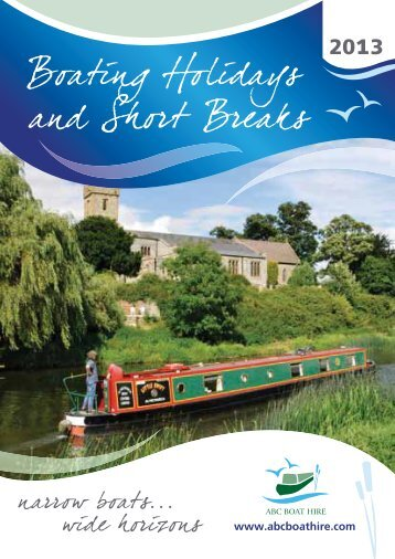 Boating Holidays and Short Breaks